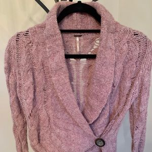 Free People Dusty Rose Sweater